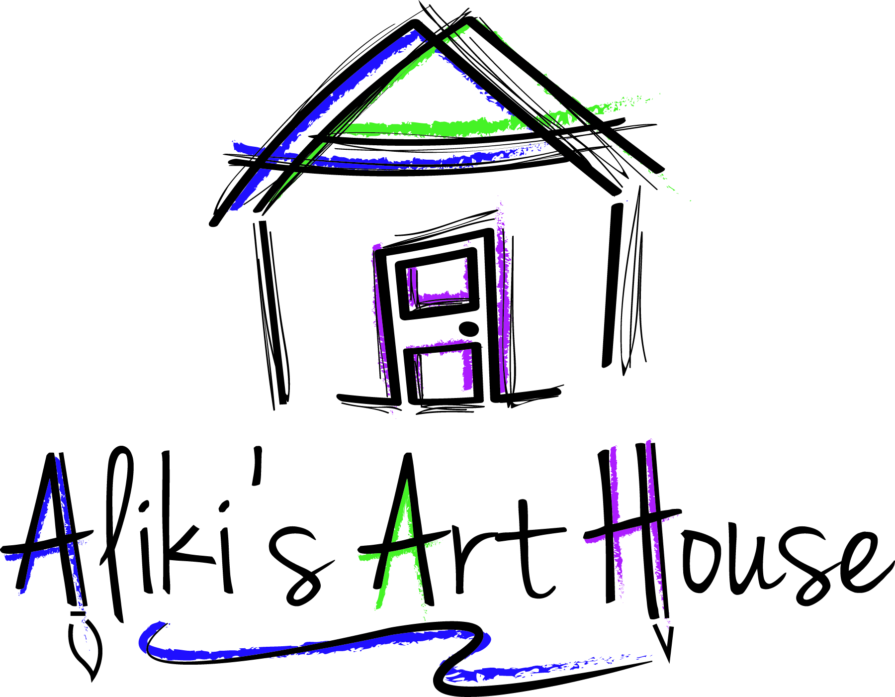 cb003c92b Aliki's Art House - a space and place where fun begins! Aliki's proven  step-by-step system teaches students of all ages how to draw in a variety  of styles ...