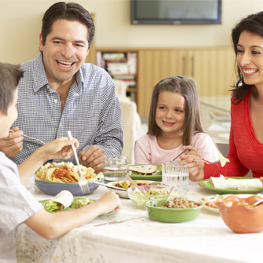 Finally Carved Out A Night For Your Family To Sit Down And Eat Meal Together Now That You Re All Present Make Mealtime Playful Fun With